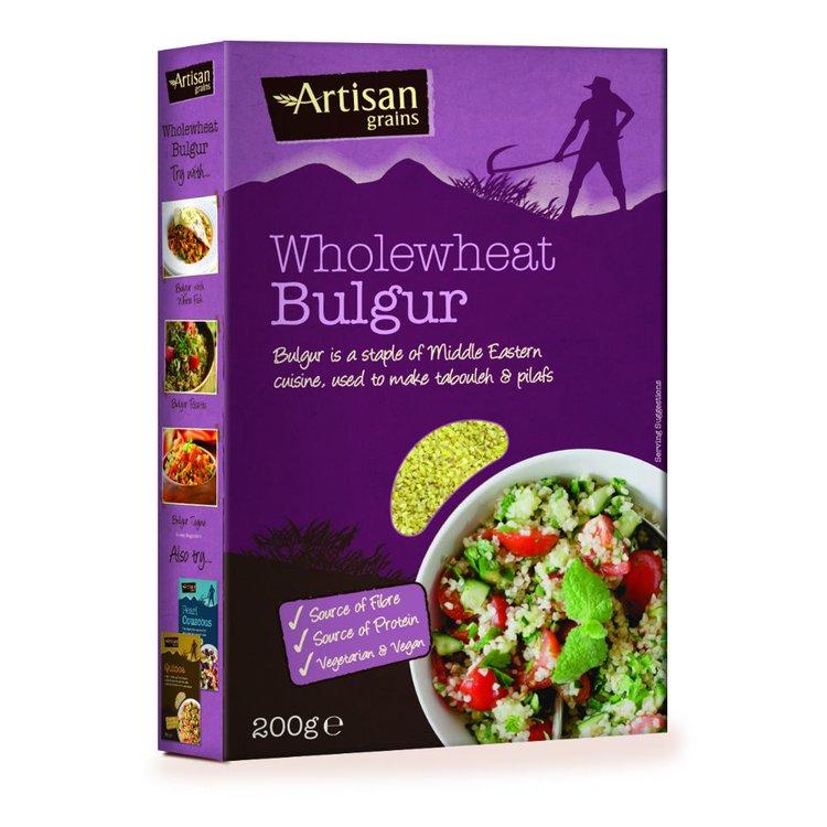 Wholewheat bulgur