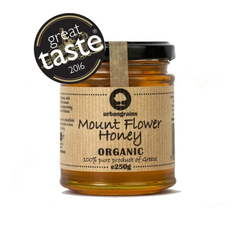 Organic Mount Olympus Flower Honey 250g