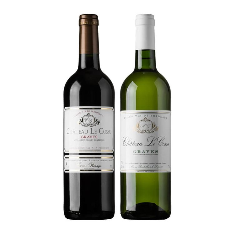 Château Le Cossu Red & White Wine (12 Bottles)