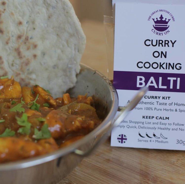 Balti Curry Kit (Medium) 30g
