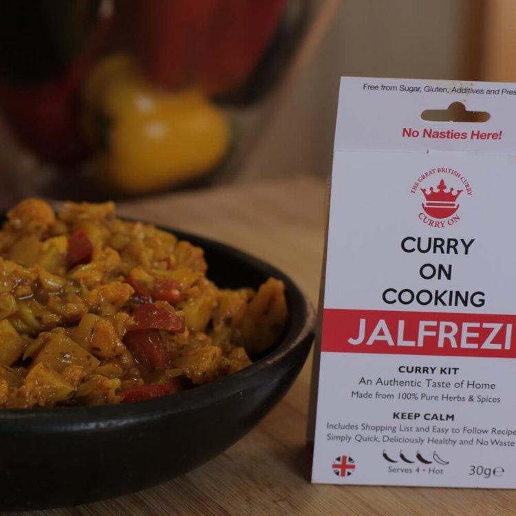 Jalfrezi Curry Kit (Hot) 30g
