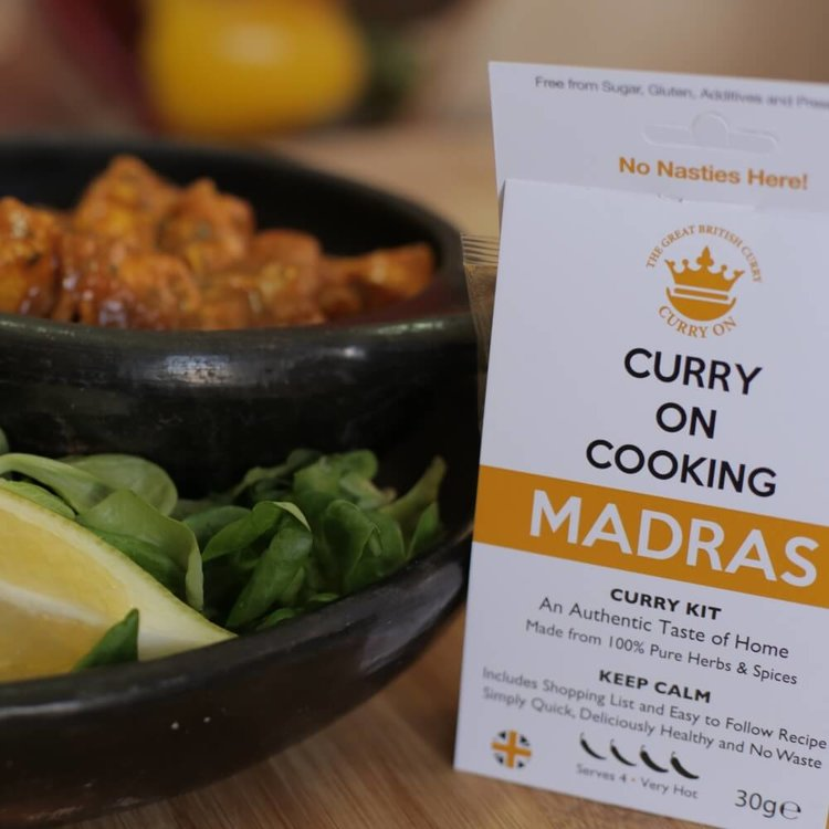 Madras Curry Kit (Very Hot) 30g