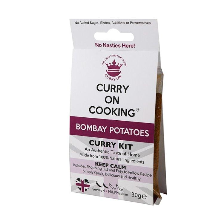 Bombay Potatoes Curry Kit (Mild/Medium) 30g