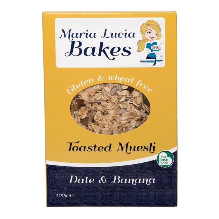 Date & Banana Gluten Free Toasted Muesli 400g