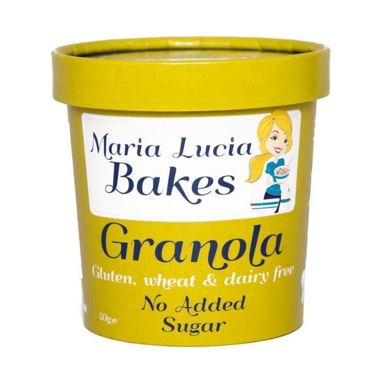 No Added Sugar Gluten Free Granola Pot 40g