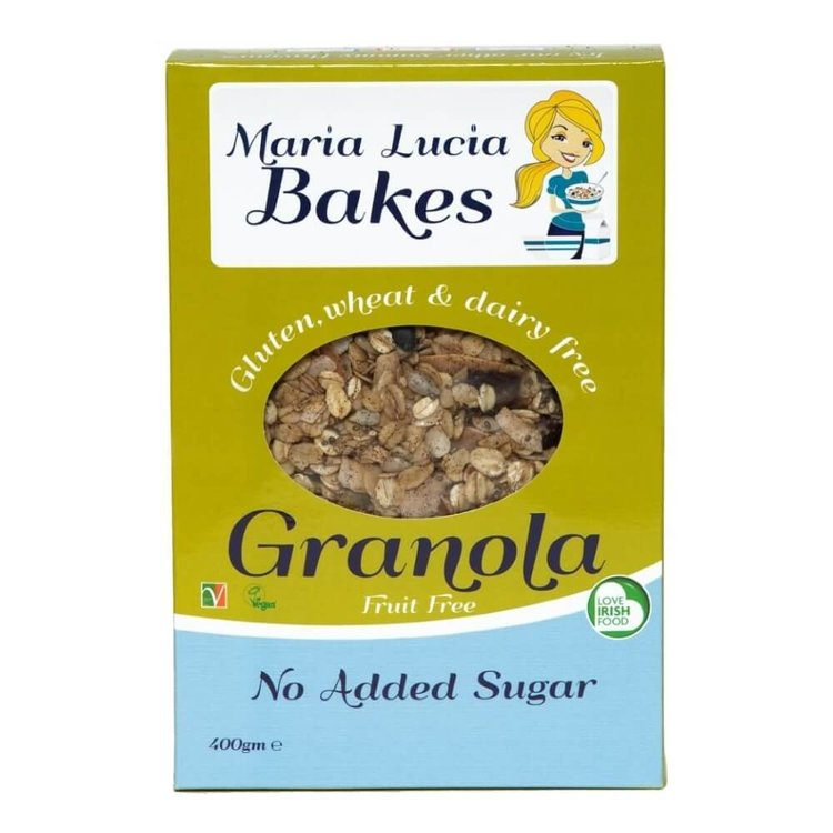 Gluten-Free Granola with No Added Sugar 400g