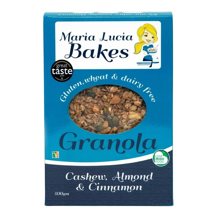 Gluten-Free Cashew, Almond & Cinnamon Granola 400g