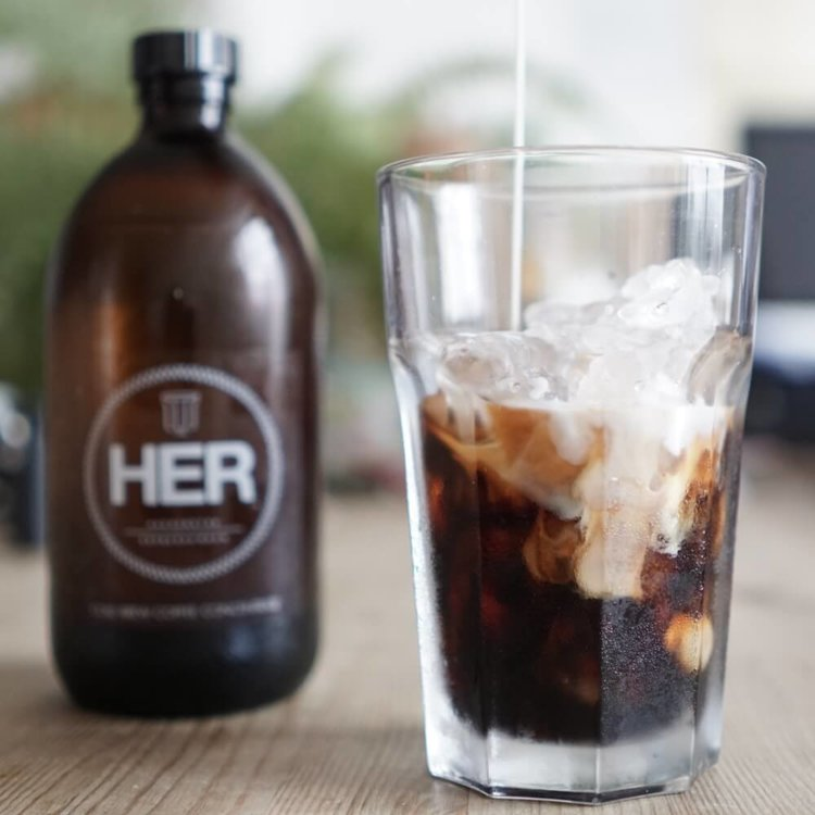 Cold Brew Coffee Concentrate (Makes Hot & Cold Coffee) 2 x 120ml