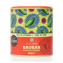 Organic Baobab Superfruit Pulp Powder 80g by Aduna