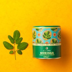 100% Organic Moringa Superleaf Powder 100g (For Smoothies, Salads & Soups)