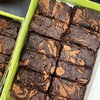 Gluten-free Peanut Butter Brownies Gift Box by Norah's Brownies - Dairy-free brownies