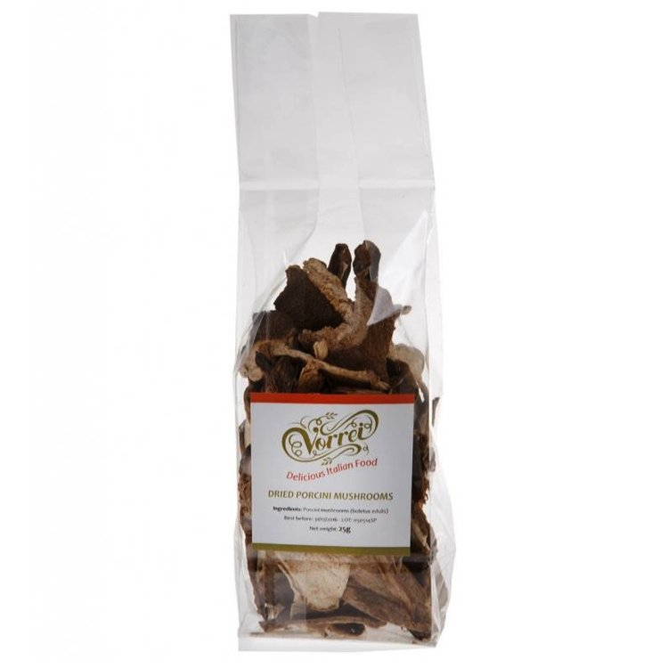 Dried Italian Porcini Mushrooms 25g