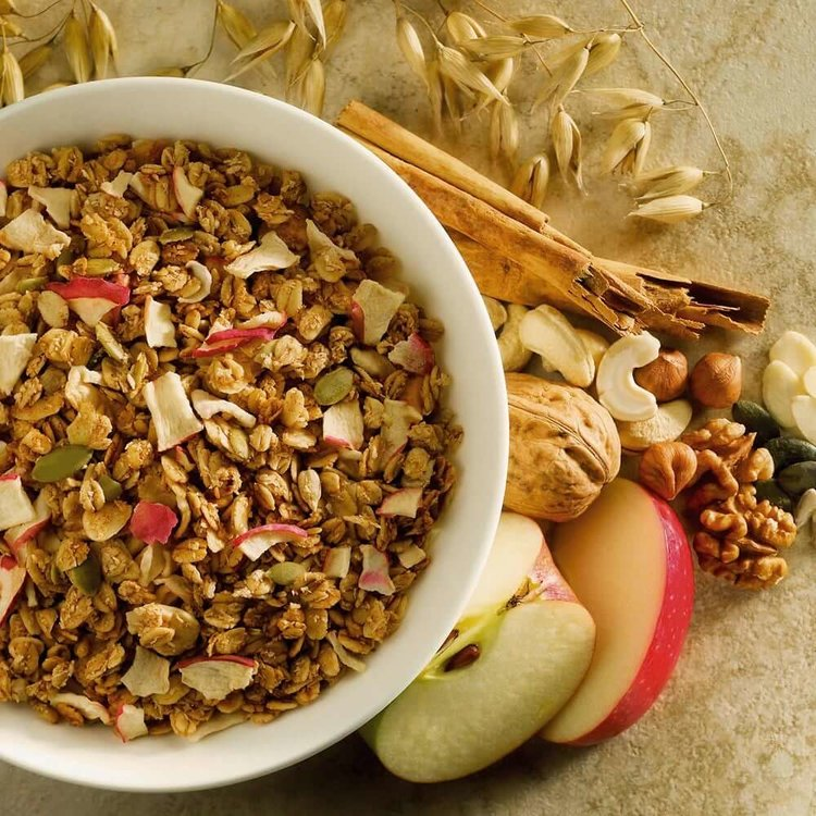 Pink Apple & Cinnamon Granola 400g