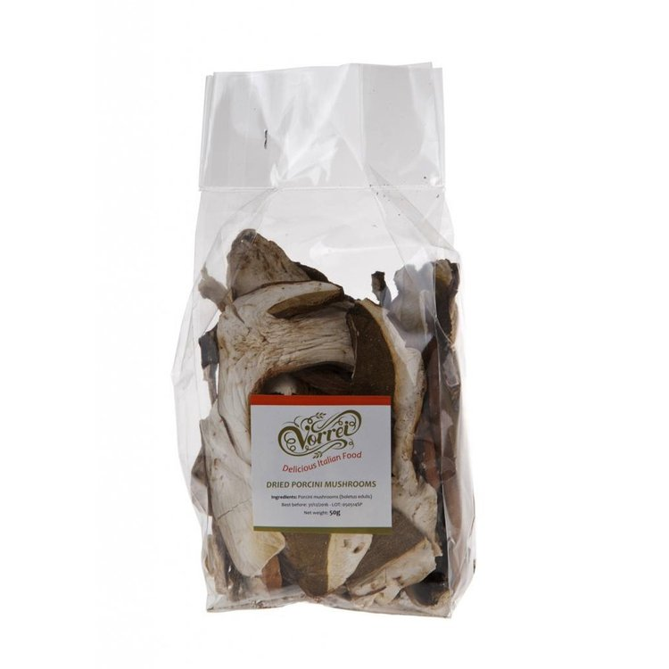 Dried Italian Porcini Mushrooms 50g
