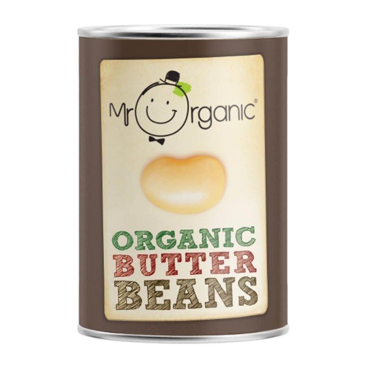Organic Tinned Butter Beans 400g