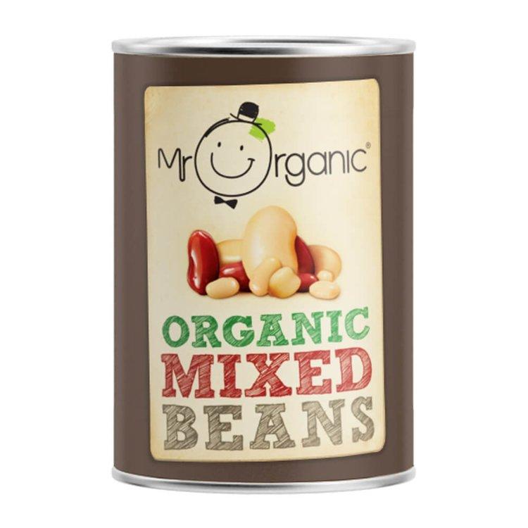 Organic Tinned Mixed Beans 400g