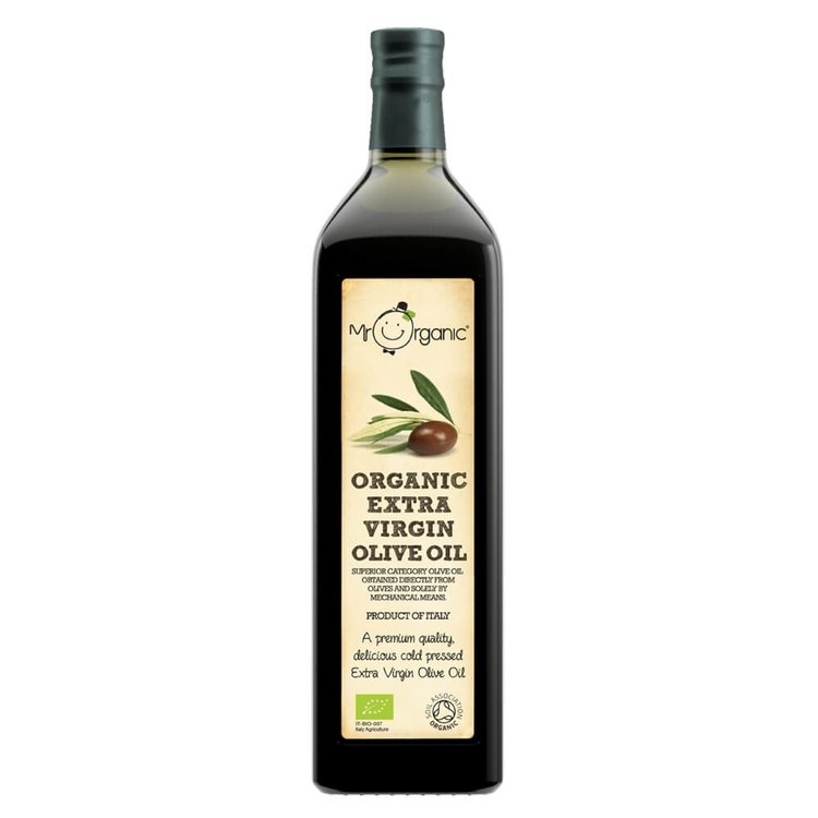Organic Extra Virgin Olive Oil 1L