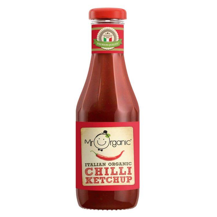 Organic Chilli Ketchup 480g