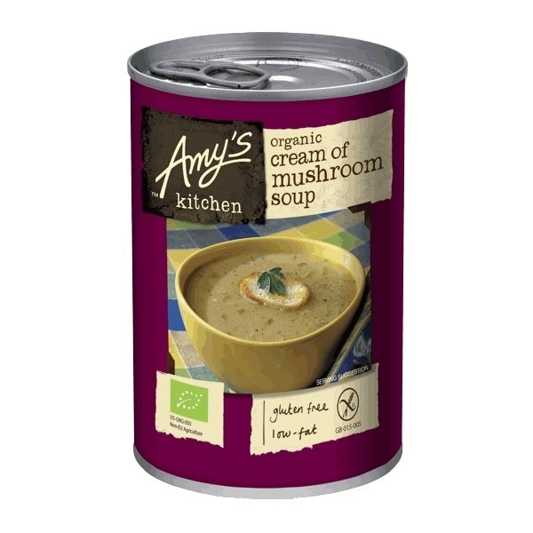 Organic Cream of Mushroom Soup 400g