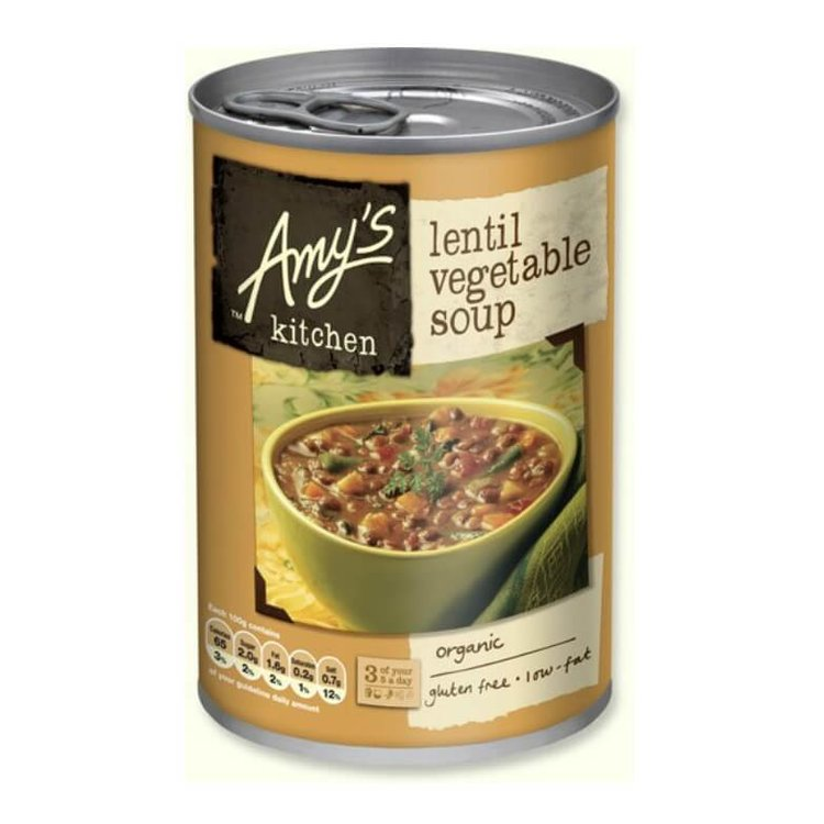 Organic Lentil Vegetable Soup 400g