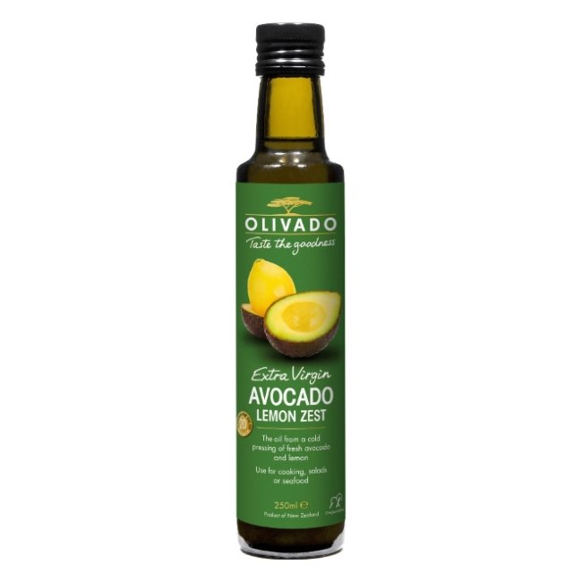 Extra Virgin Avocado & Lemon Zest Oil 250ml
