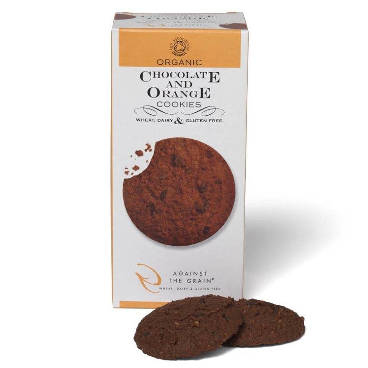 Organic Chocolate & Orange Cookies 150g (Gluten Free)