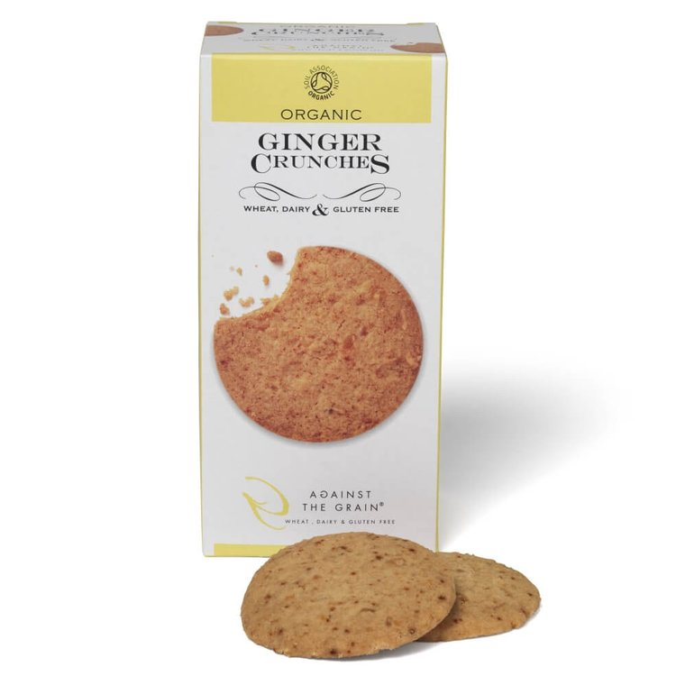 Organic Ginger Crunches 150g