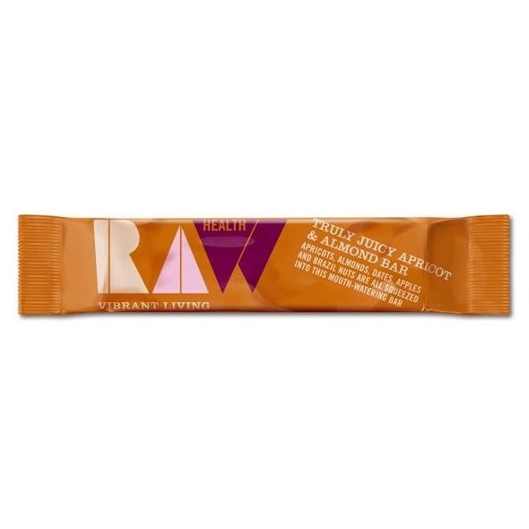 Truly Juicy Raw Apricot & Almond Bar 42g x 12