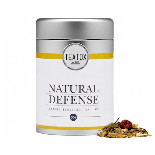 Natural Defense Organic Green Tea with Ginger 50g