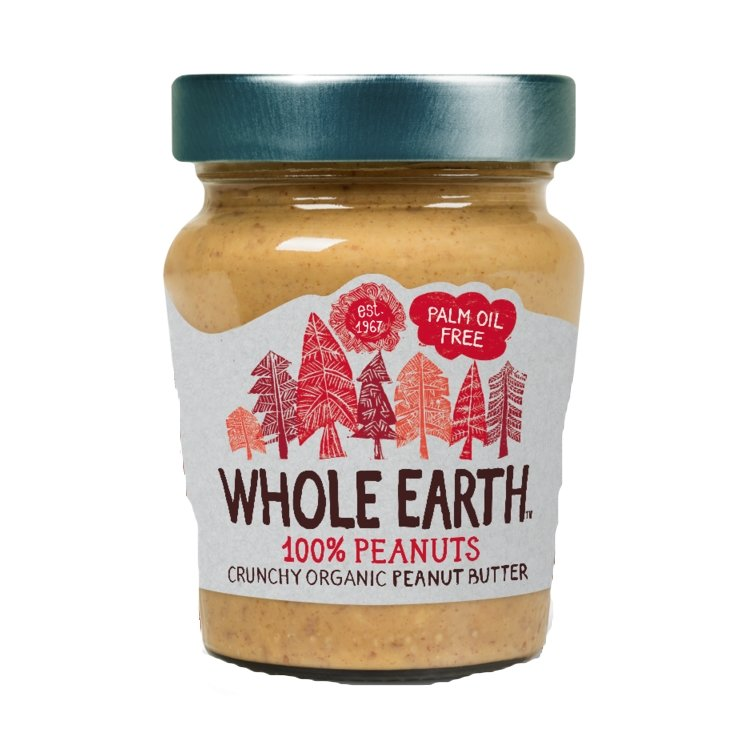 100% Nuts Crunchy Peanut Butter 227g