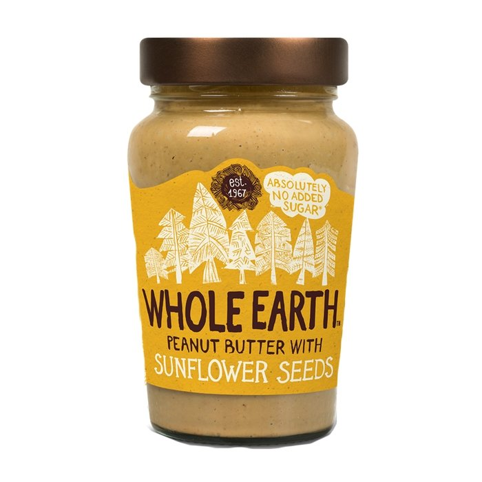 Peanut Butter with Sunflower Seeds 340g by Whole Earth