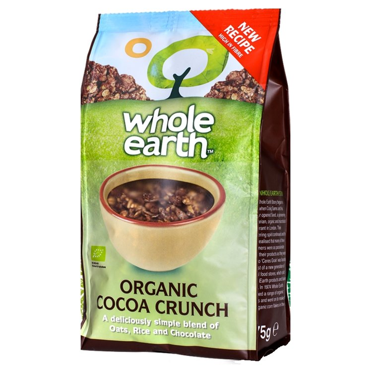 Organic Cocoa Crunch Cereal 375g