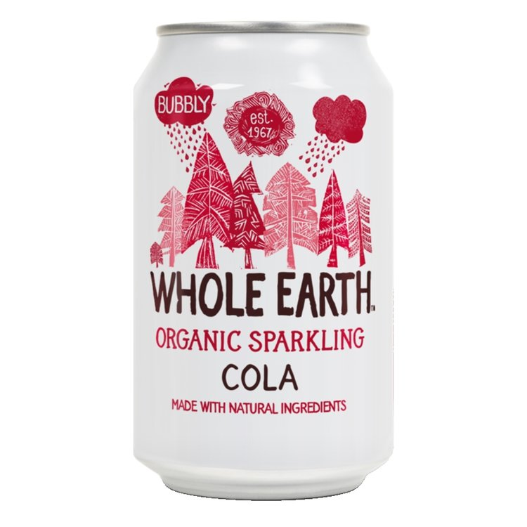 Organic Sparkling Cola Soft Drink 330ml