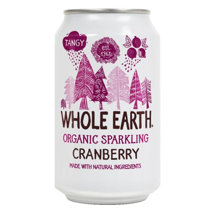 Organic Sparkling Cranberry Soft Drink 330ml
