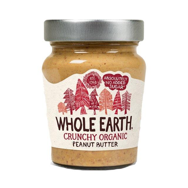 Organic Crunchy Peanut Butter 227g