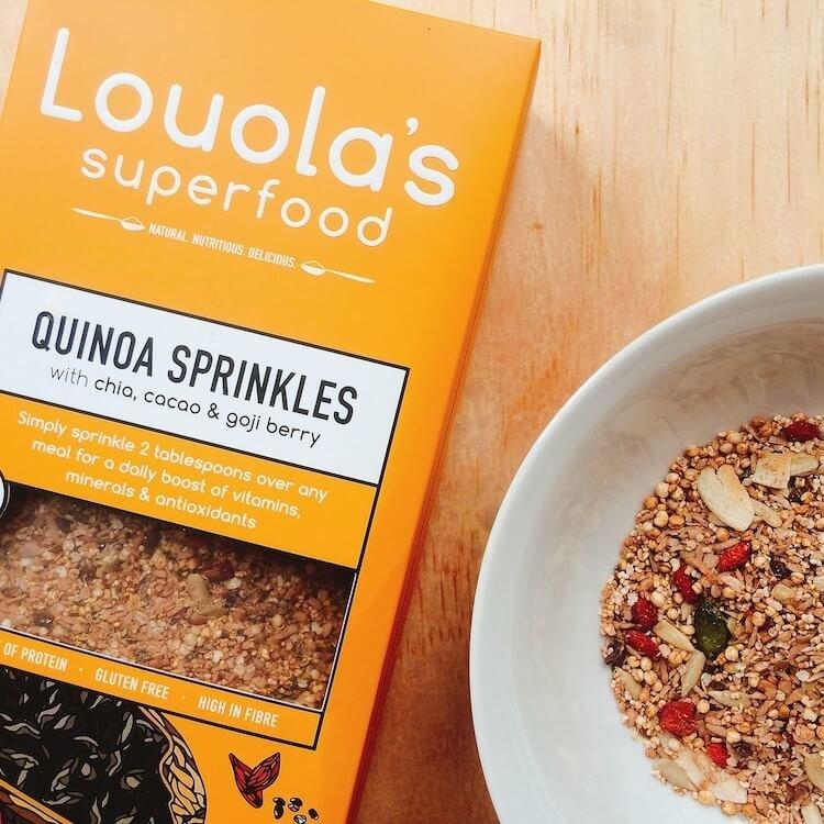 Organic Quinoa Sprinkles with Chia, Cacao & Goji Berry 300g