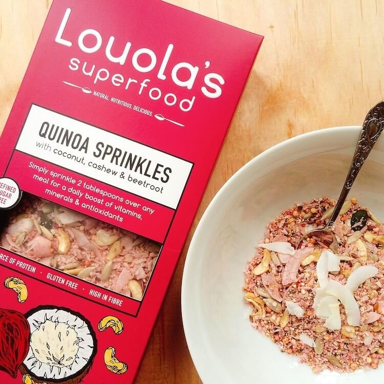 Organic Quinoa Sprinkles with Coconut, Cashew & Beetroot 300g