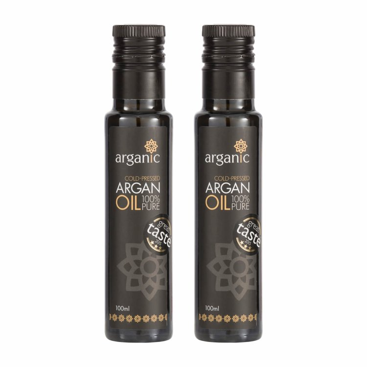 Organic Argan Oil 2 x 100ml