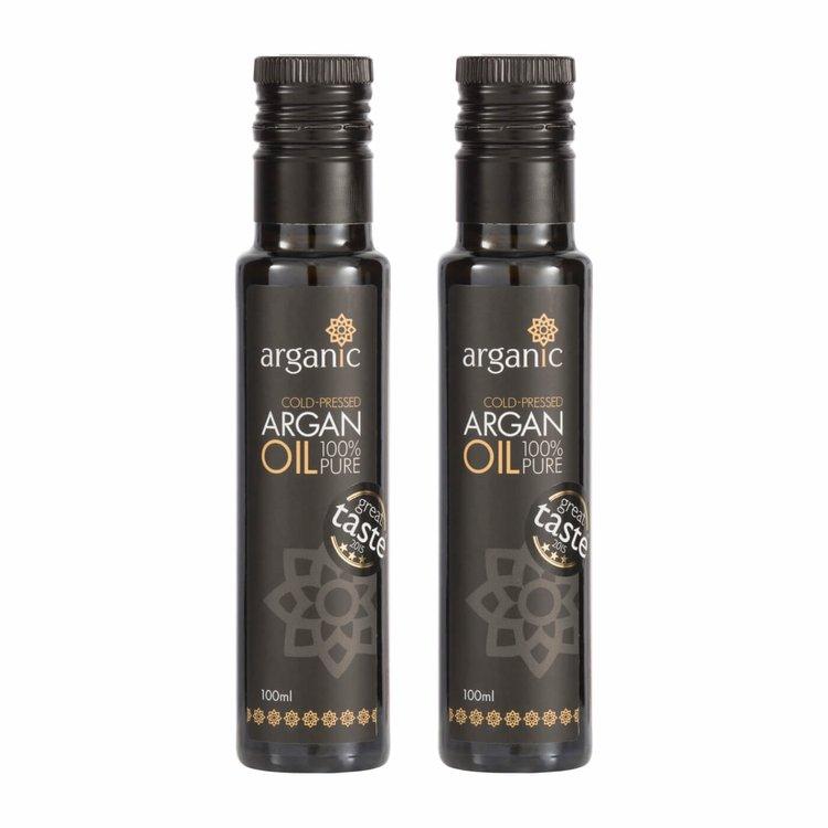 2 x Moroccan Argan Oil 100ml