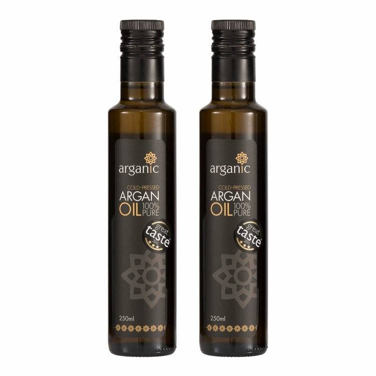 Organic Argan Oil 2 X 250ml