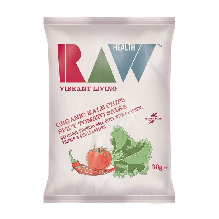 Organic Spicy Tomato Salsa Kale Chips 30g