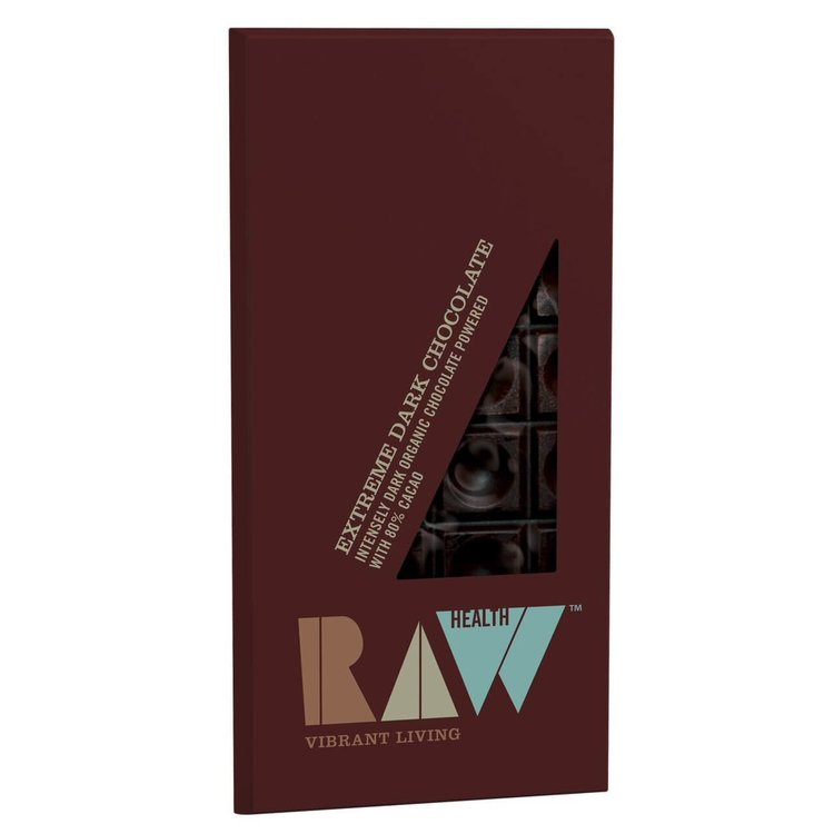 Organic Extreme Dark Chocolate (80% Cacao) 70g