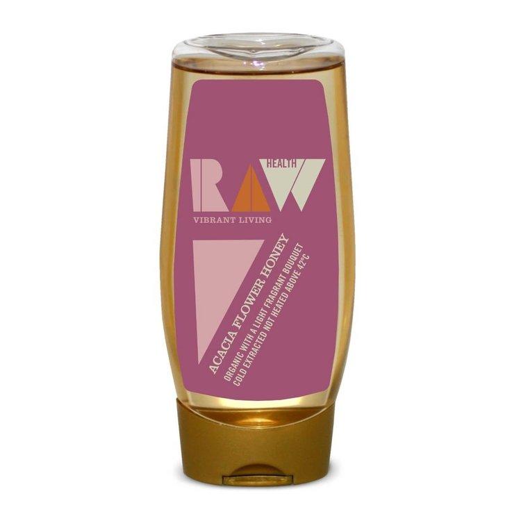 Organic Raw Acacia Blossom Honey 350g