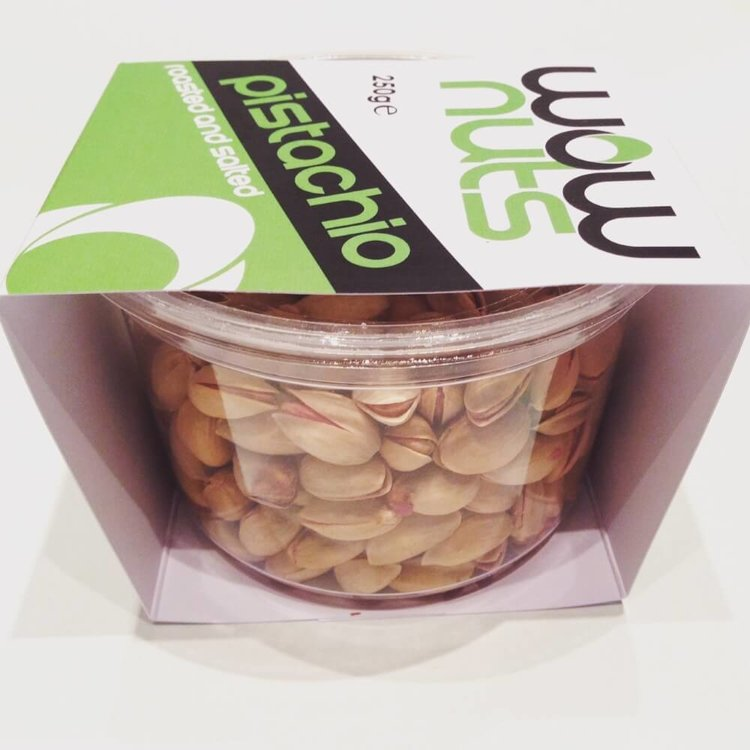 Roasted & Salted Pistachios Tub 250g