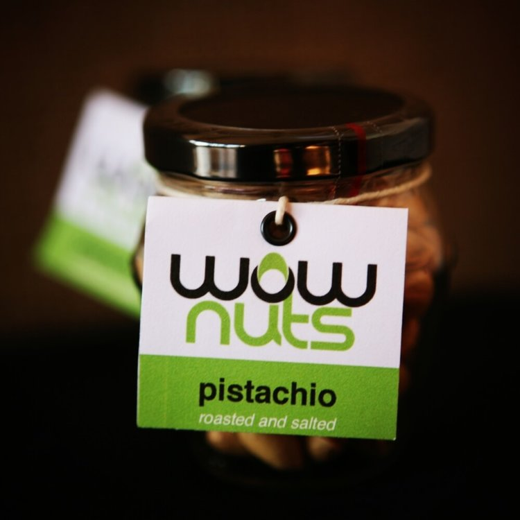 Roasted & Salted Pistachios Jar 100g