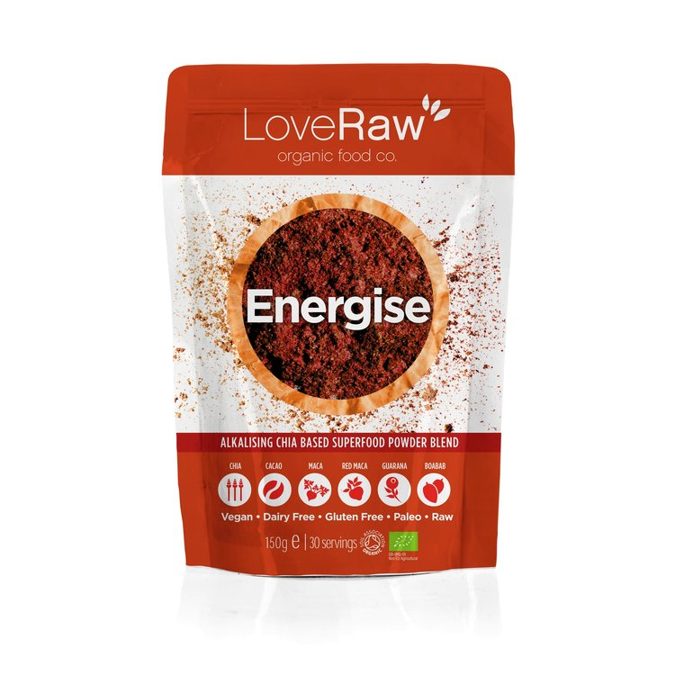 Energise - Organic Superfood Powder Blend 150g