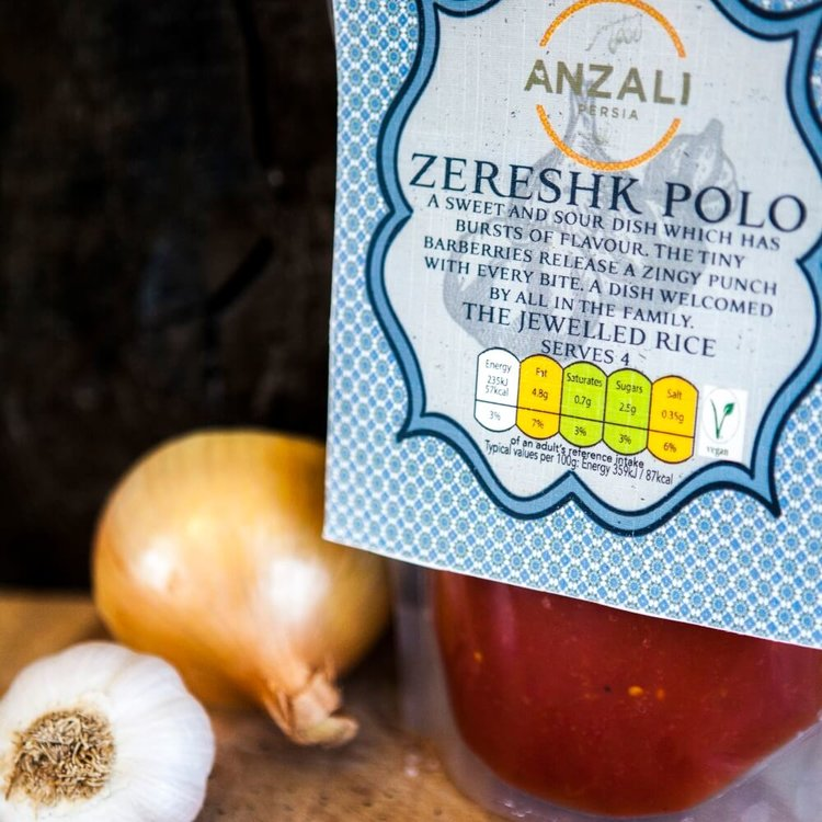 Zereshk Polo Curry Paste 300g