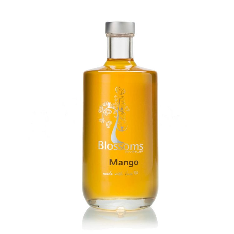 Mango Fruit Syrup 100ml (For Desserts, Cocktails, Prosecco, Soft Drinks)