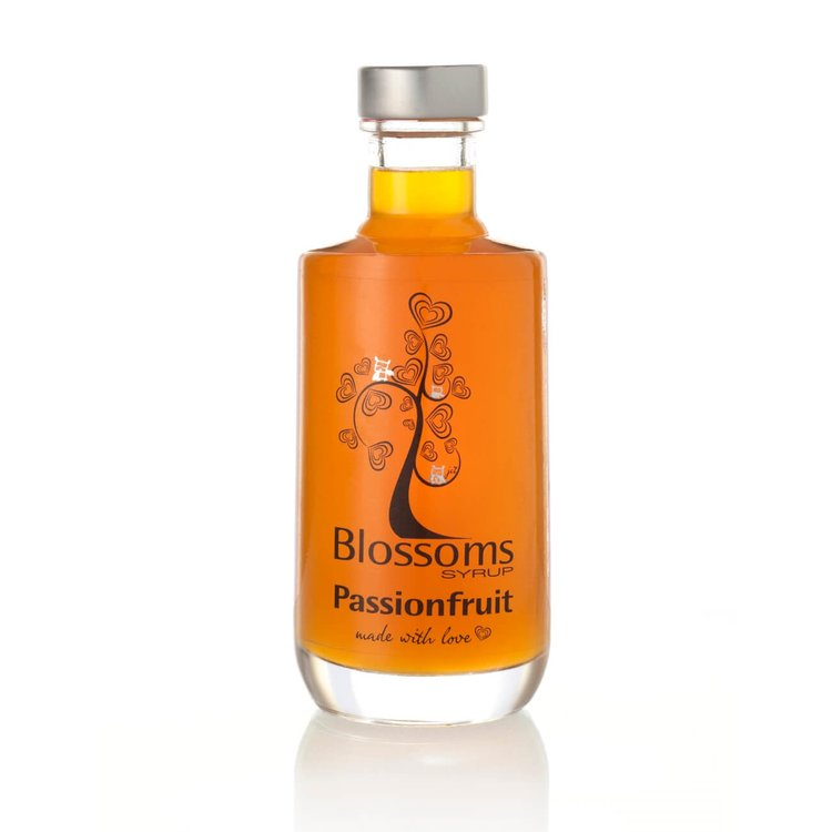 Passionfruit Syrup 100ml (For Desserts, Cocktails, Prosecco, Soft Drinks)