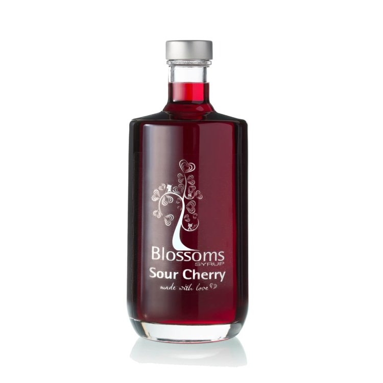 Sour Cherry Fruit Syrup 100ml (For Desserts, Cocktails, Soft Drinks)